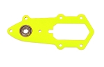 04771 Frame for tailrotor case neon yellow, Logo 550/600
