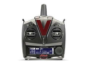 04841 Mikado VBar Control Radio with RX-Satellite, grey/black
